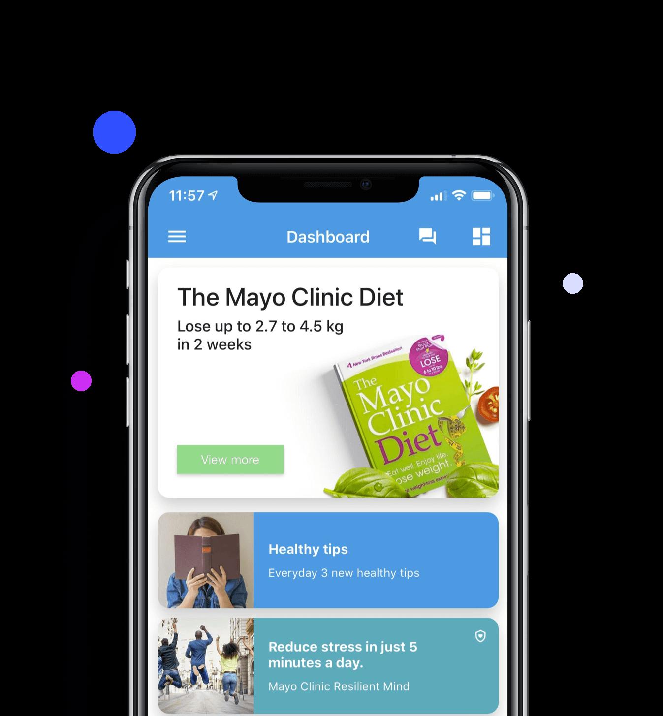 24alife App Dashboard